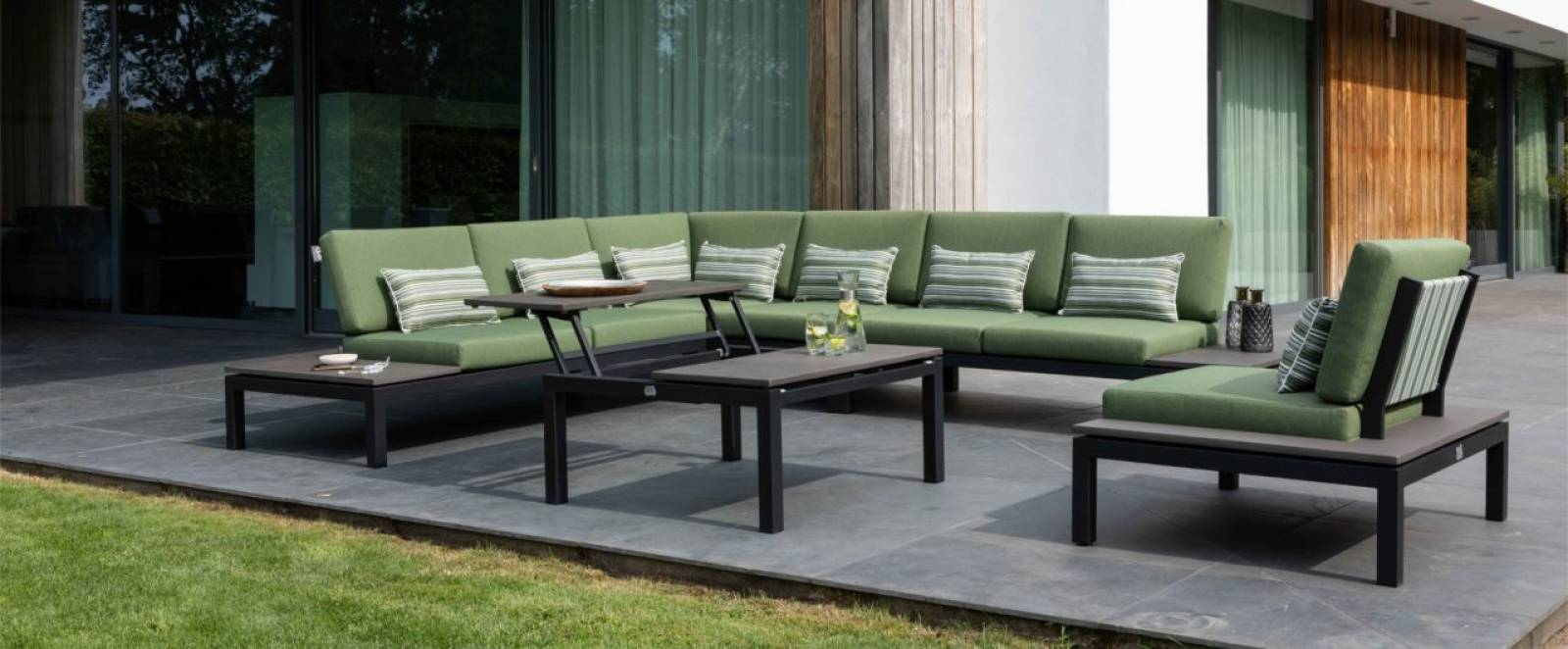 Salon de jardin Pebble Beach de Applebee - Insensé Mobilier